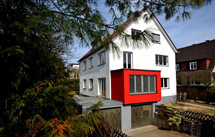 Neubau EFH 2 architektur + energie Klassische Häuser