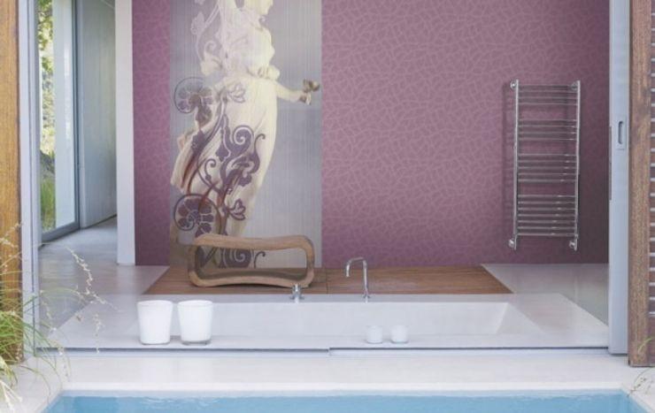 4 Duvar İthal Duvar Kağıtları & Parke Casas de banho modernas