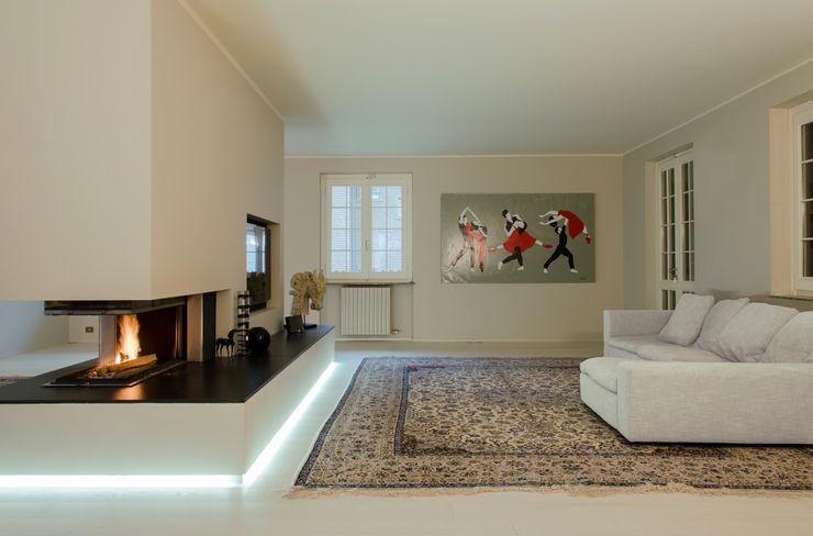 luogo comune Livings de estilo minimalista