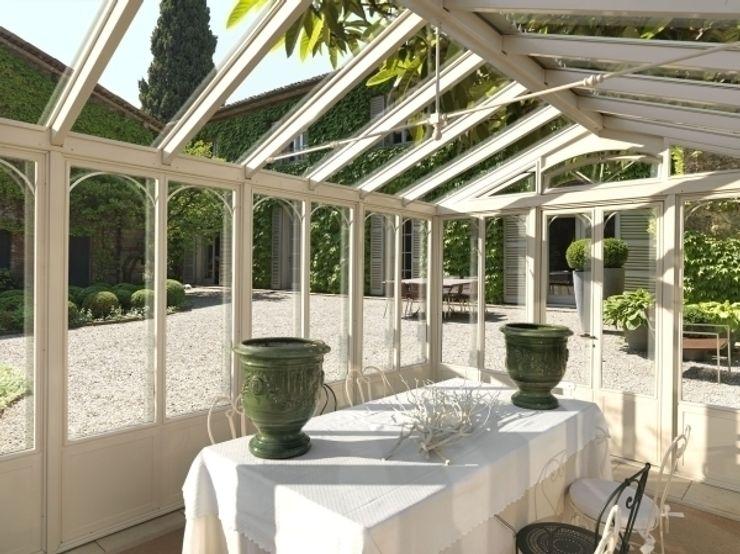 DINING ROOM CONSERVATORY Cagis Centri commerciali in stile classico Ferro / Acciaio Trasparente