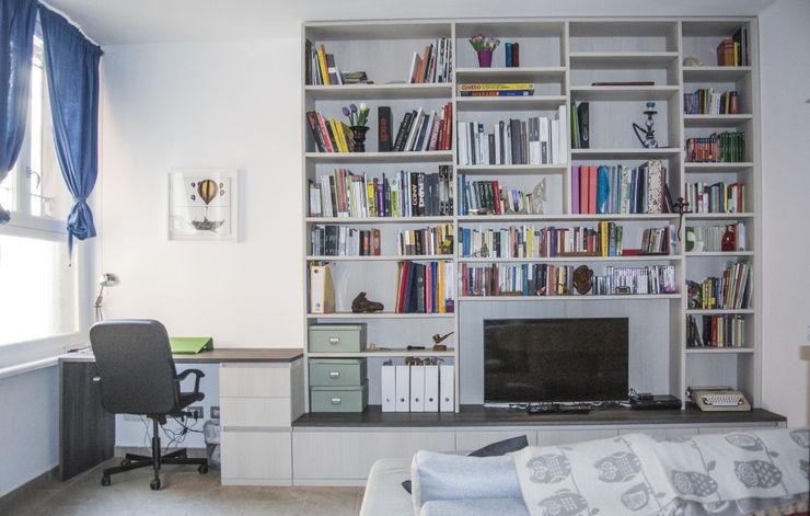 Studio di architettura Miletta Livings de estilo moderno