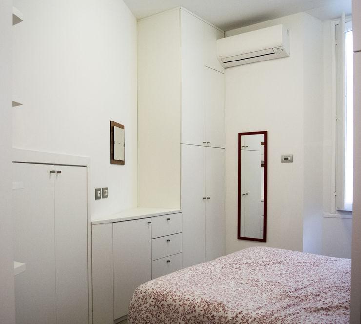 Studio di architettura Miletta Dormitorios de estilo minimalista