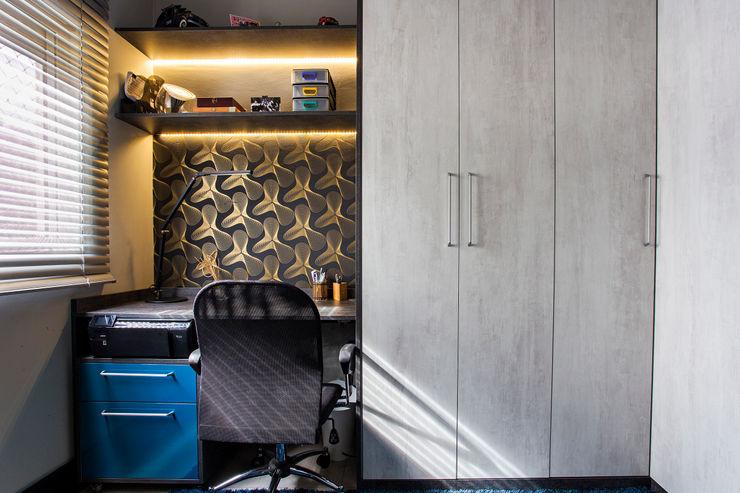Lo. interiores Estudios y despachos de estilo moderno