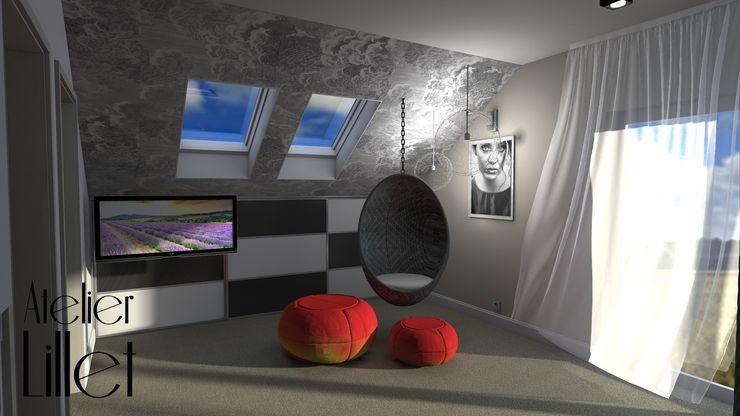 Pracownia projektowa Atelier Lillet Modern Bedroom