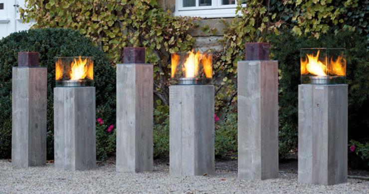 Feuersäule Holzhandel Stefan GmbH GartenFeuerplätze und Grill