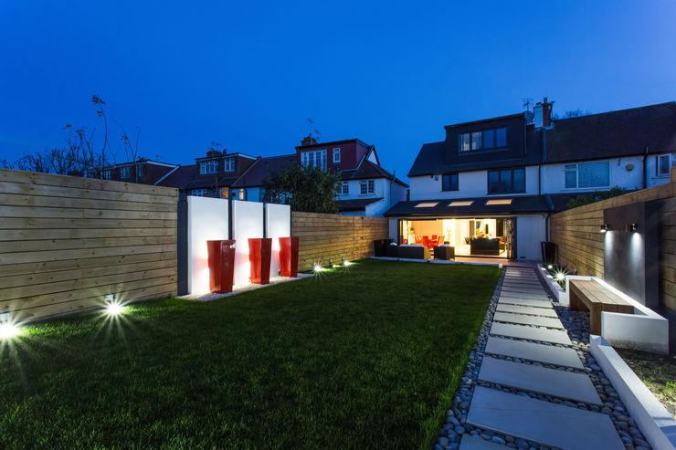 Night time in the Garden GK Architects Ltd Garden Lighting