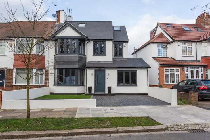 Whitton Drive GK Architects Ltd Terrace house