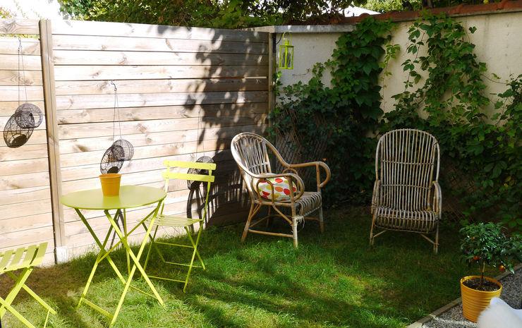 COCON VINTAGE Agence Laurent Cayron Jardin moderne