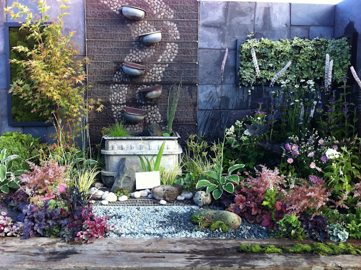 contemplation corner Juniperhouse Asian style gardens