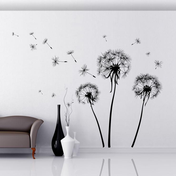 Crearreda Walls & flooringWall tattoos Komposit Kayu-Plastik Black