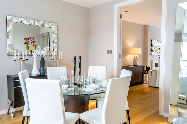 Dining room In:Style Direct Minimalist dining room