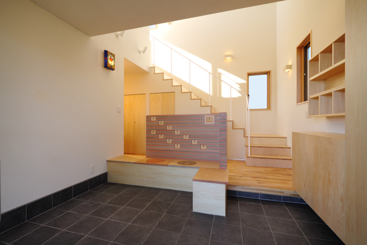 office.neno1365 Modern Media Room Wood Wood effect