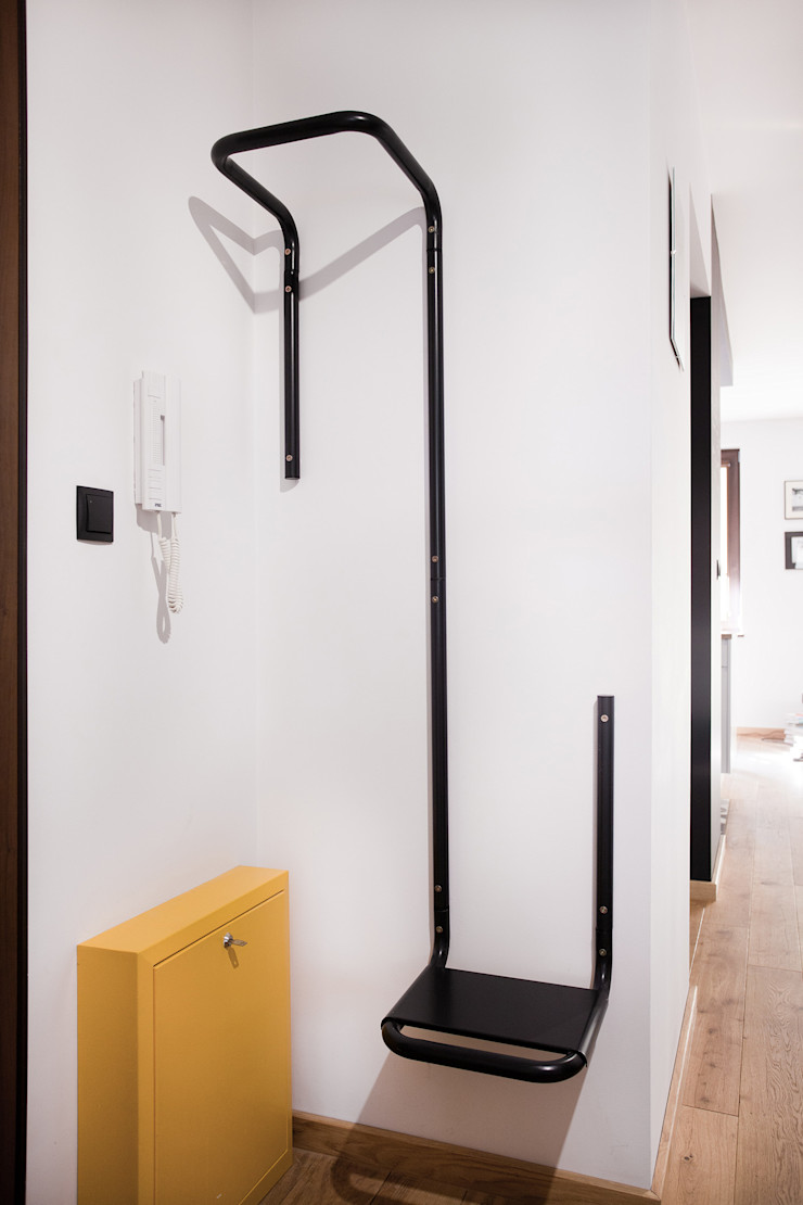 no bo bono unikat:lab Modern corridor, hallway & stairs