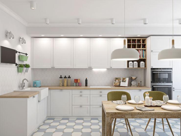 Ekaterina Donde Design مطبخ