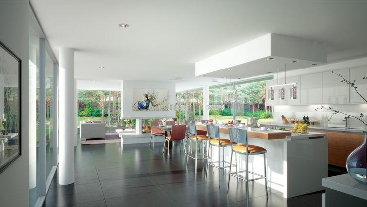 Canford Cliffs, Poole David James Architects & Partners Ltd Modern kitchen