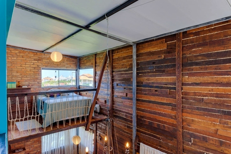 Casa ReFit Ferraro Habitat Quartos rústicos