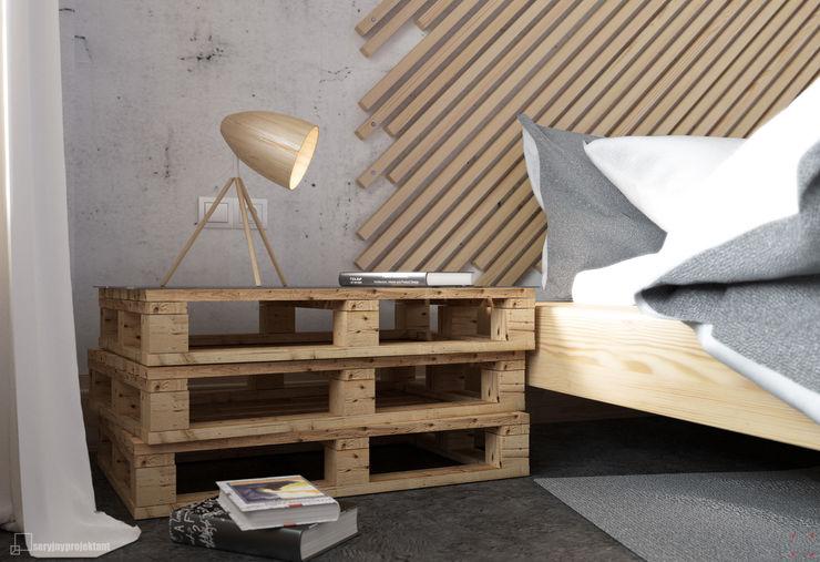 Piece of wood Seryjny Projektant BedroomBedside tables