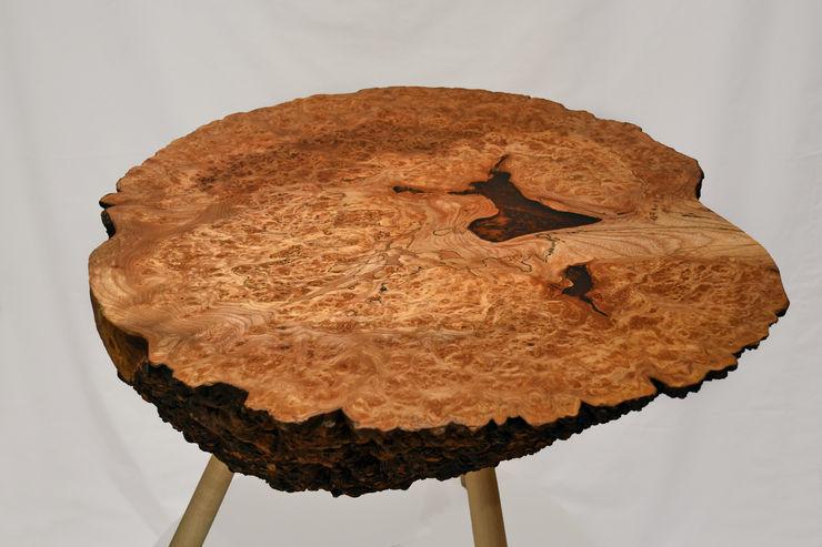 Burr Elm Coffee Table Clachan Wood ВітальняСтолики та лотки