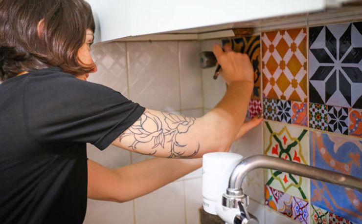 Adesivo de azulejo hidráulico para cozinha ZAP KitchenAccessories & textiles