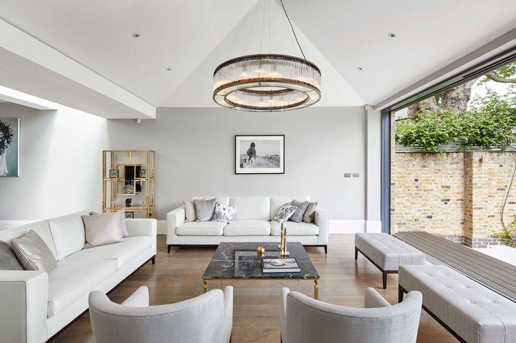 London Art de Vivre Sophie Nguyen Architects Ltd Modern living room