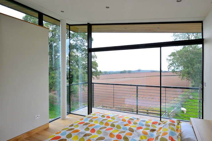 Carreg a Gwydr Hall + Bednarczyk Architects 臥室