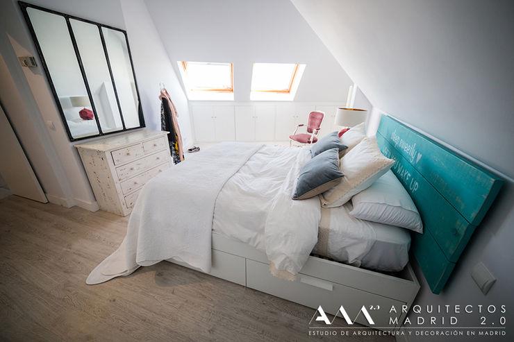 Arquitectos Madrid 2.0 Спальня