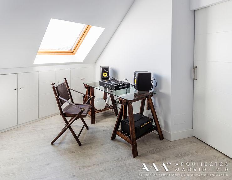 despacho estudio minimalista Arquitectos Madrid 2.0 Estudios y despachos de estilo minimalista