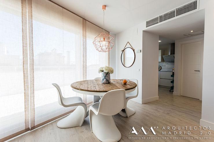 Comedor moderno minimalista Arquitectos Madrid 2.0 Comedores de estilo moderno