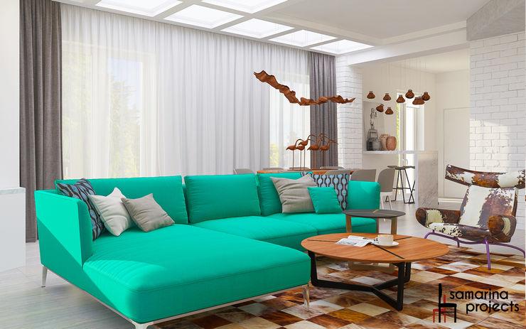 Samarina projects Living room