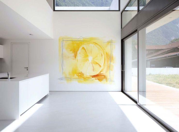 Limón Murales Divinos Cocinas modernas: Ideas, imágenes y decoración