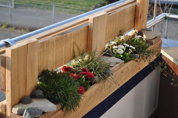 """Palettenmöbel - """"City Garden XL"""" starg Balkon, Veranda & TerrassePflanzen und Blumen"""