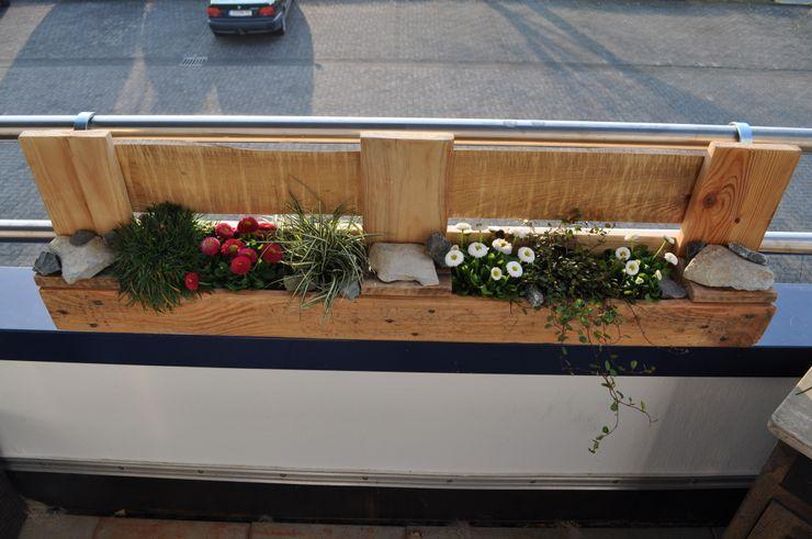 """Palettenmöbel - """"City Garden XL"""" starg GartenBlumentöpfe und Vasen"""