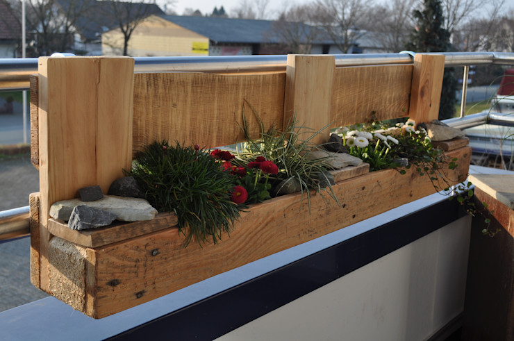 Palettenmöbel – <q>City Garden XL</q> starg GartenPflanzen und Blumen