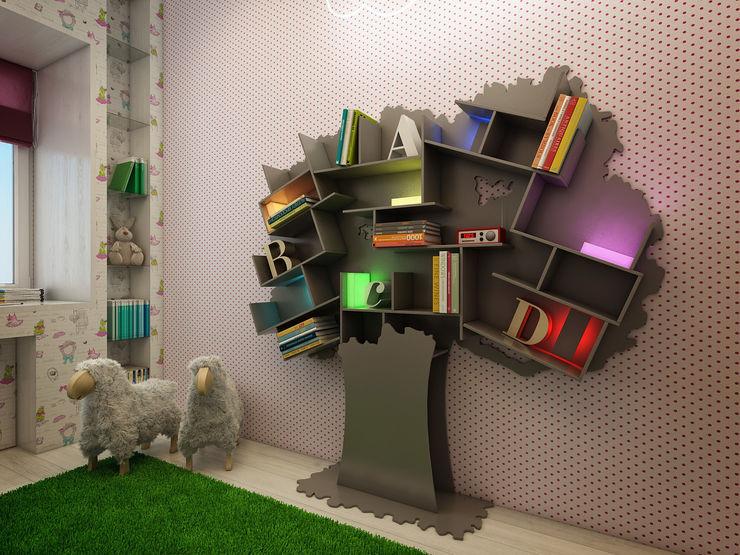 Васечкин Design Dormitorios infantiles Almacenamiento