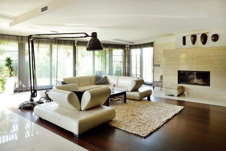 ARCHITEKT.LEMANSKI Modern living room