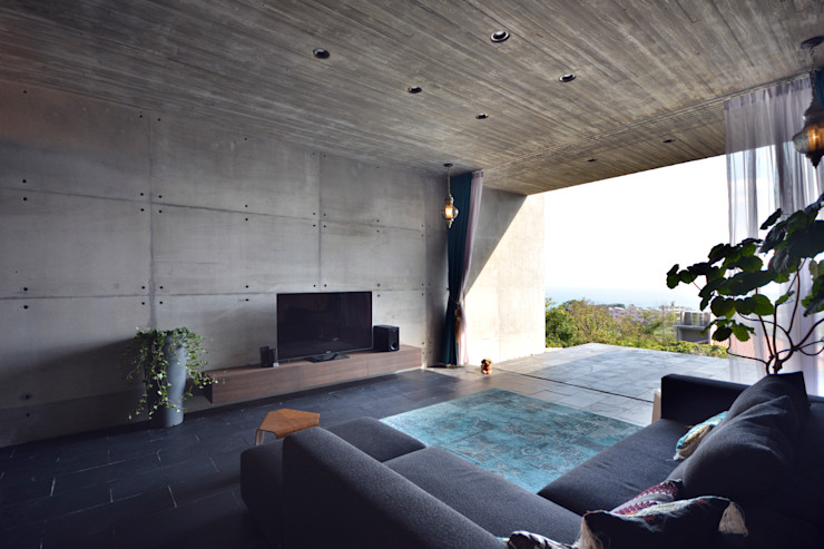 株式会社クレールアーキラボ Eclectic style living room