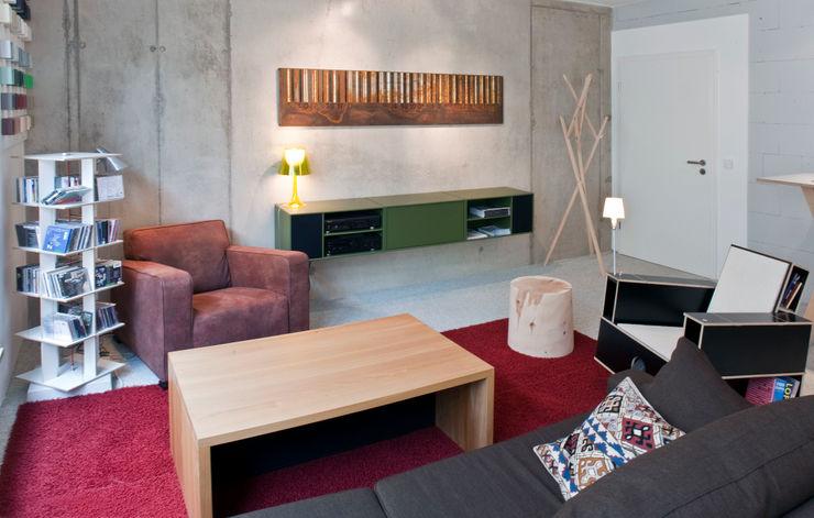 w. raum Architektur + Innenarchitektur Modern study/office