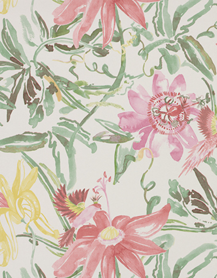 A superb collection of watercolour wallpaper designs by Lara Costafreda Paper Moon Ściany i podłogiTapety