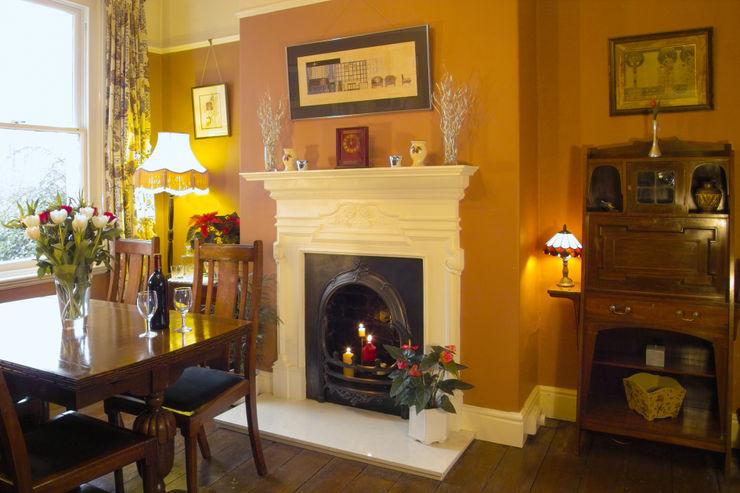 Edwardian dining room Style Within Comedores de estilo rústico