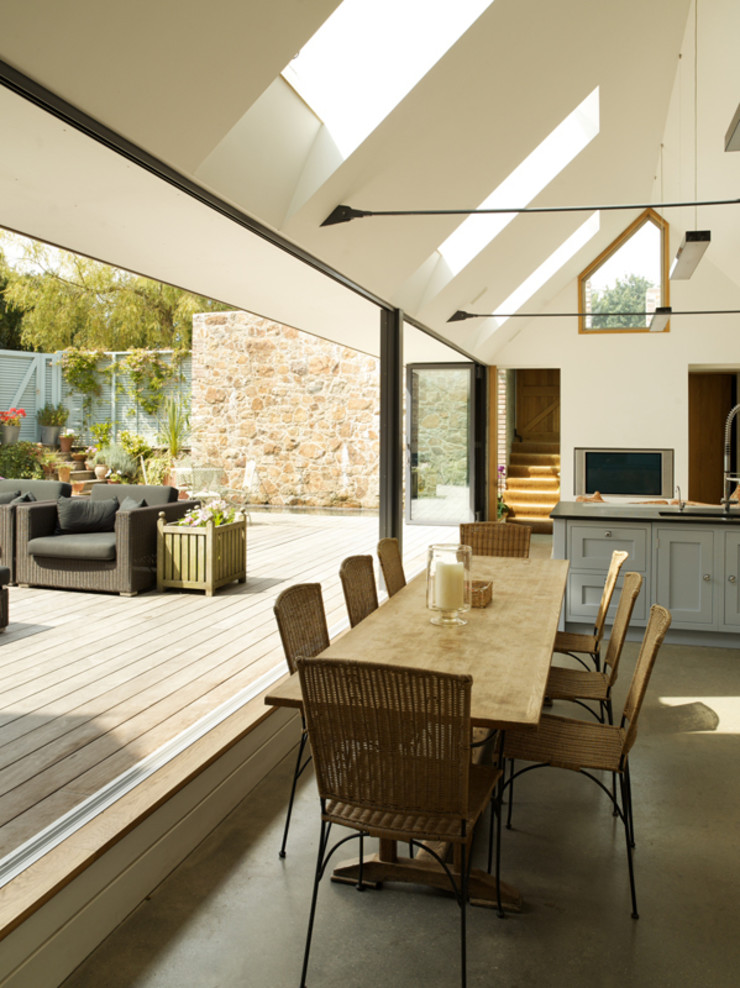 Maison Frie au Four CCD Architects Modern kitchen