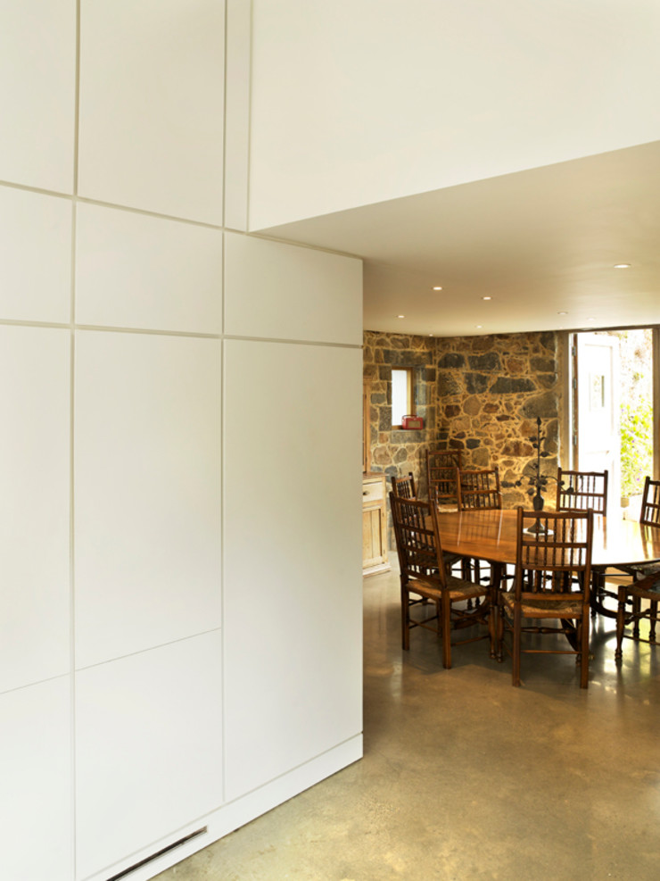 Maison Frie au Four CCD Architects Modern dining room