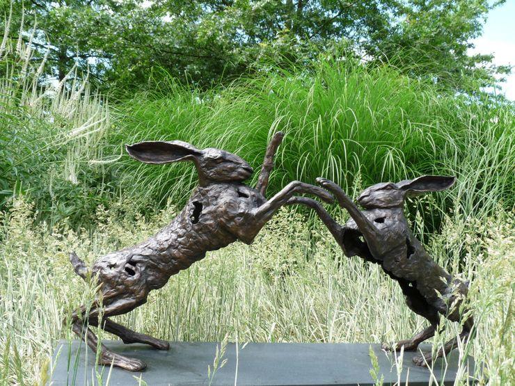 Batalla~duel Jeanette Jansen Kunst Sculpturen