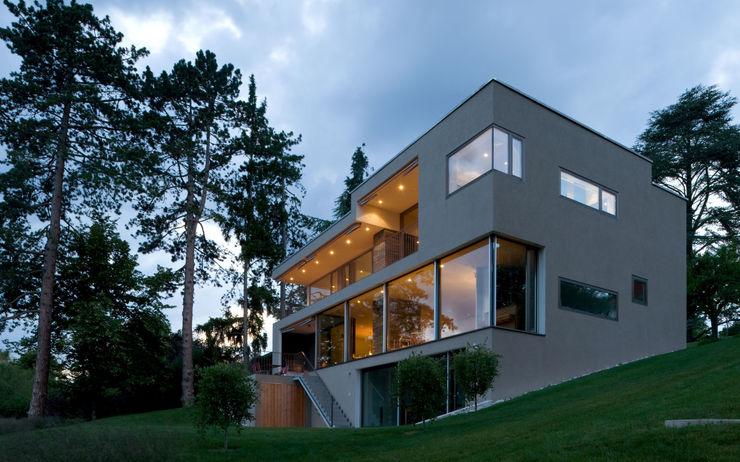 Villa Hubbell Swartz MACH Architektur GmbH Moderne Häuser