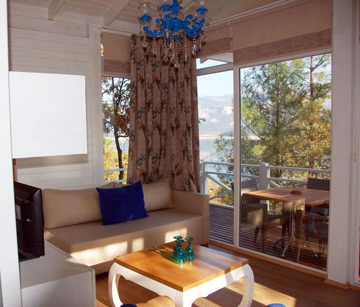 Saklı Göl Evleri SAKLI GÖL EVLERİ Modern Oturma Odası