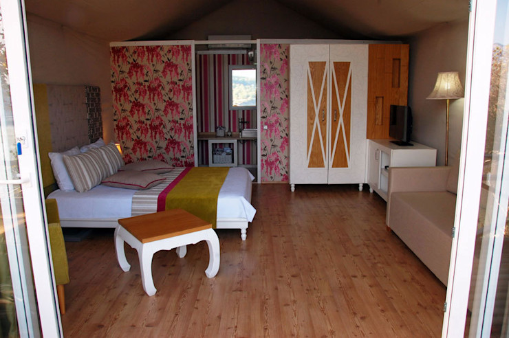 Saklı Göl Evleri SAKLI GÖL EVLERİ Modern Yatak Odası