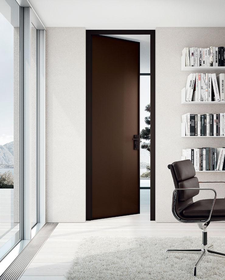 MOVI ITALIA SRL Windows & doors Doors Glass Brown