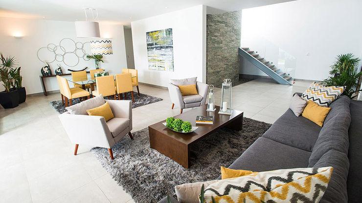 Ancona + Ancona Arquitectos Modern Oturma Odası