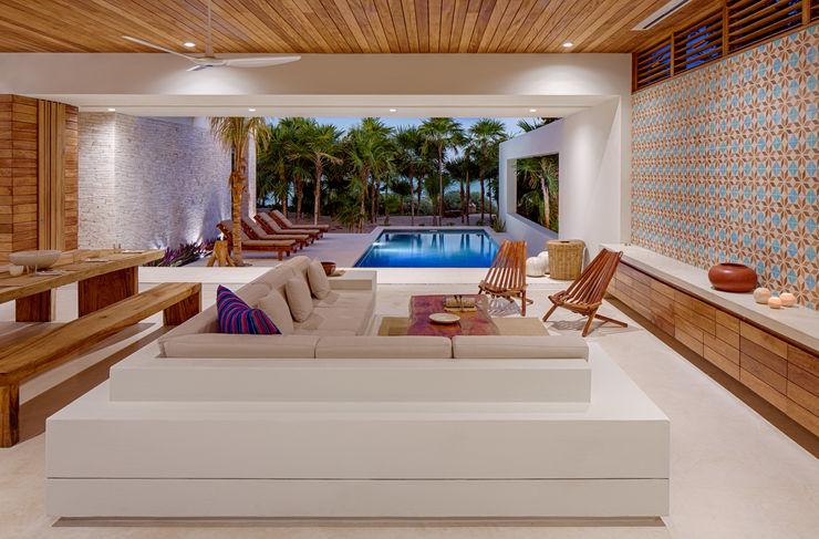 Casa Xixim Specht Architects Living room