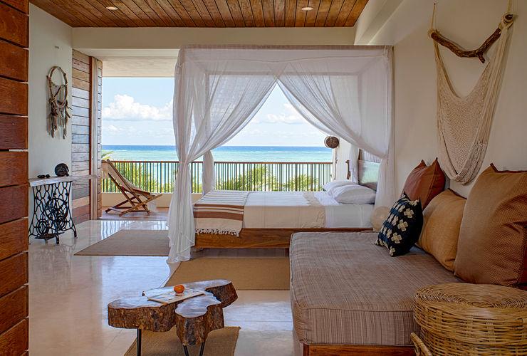 Casa Xixim Specht Architects Kamar Tidur Tropis