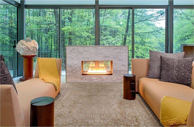 Weston Residence Specht Architects Salas de estilo moderno